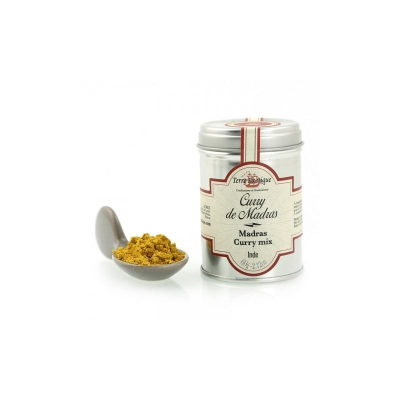 Curry de Madras  60 gr Terre Exotique