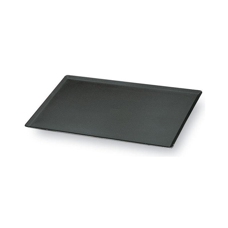 Placa de cocción de chapa pavonada 40x30