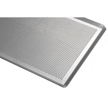 Placa perforada de aluminio