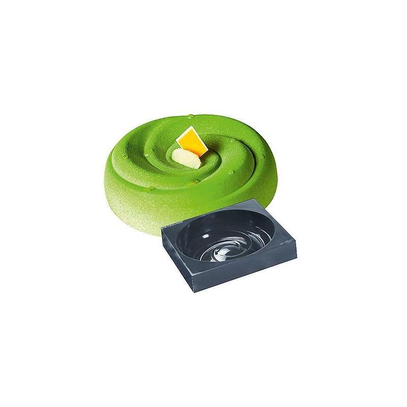 Molde Pavo Cake Espiral