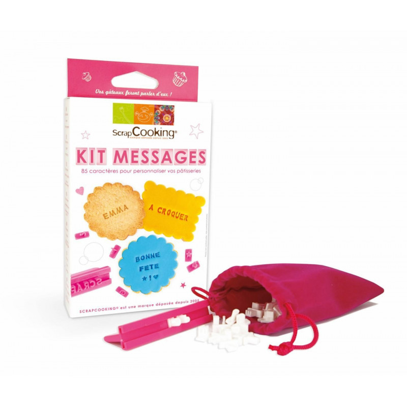 Kit de mensaje para galletas