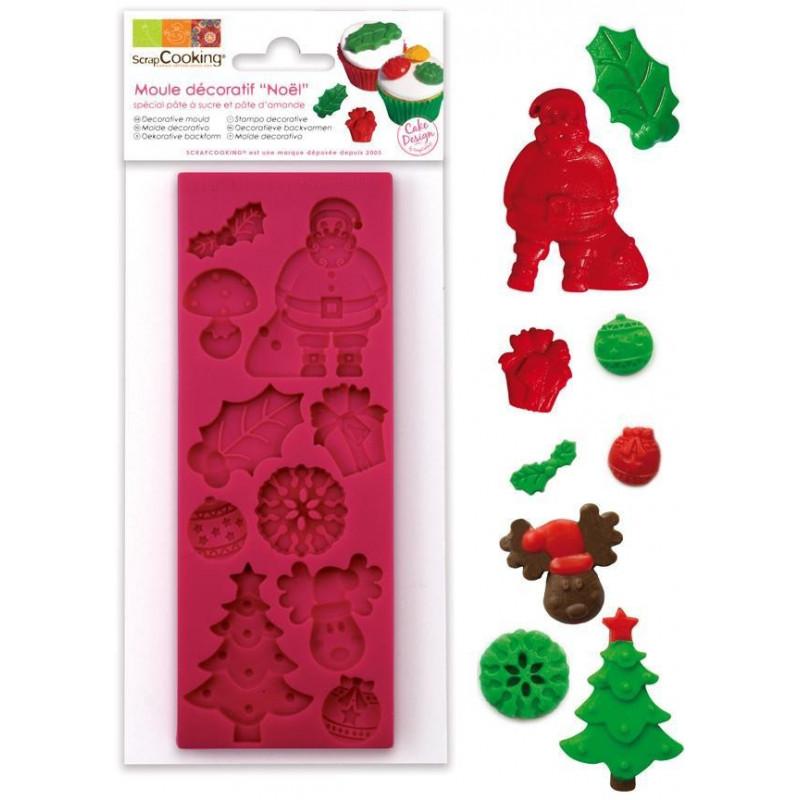 Molde Motivos Navidad Scrapcooking