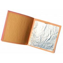 Cuaderno de 5 hojas de plata alimenticio