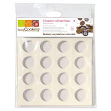 Plantilla para discos de chocolate