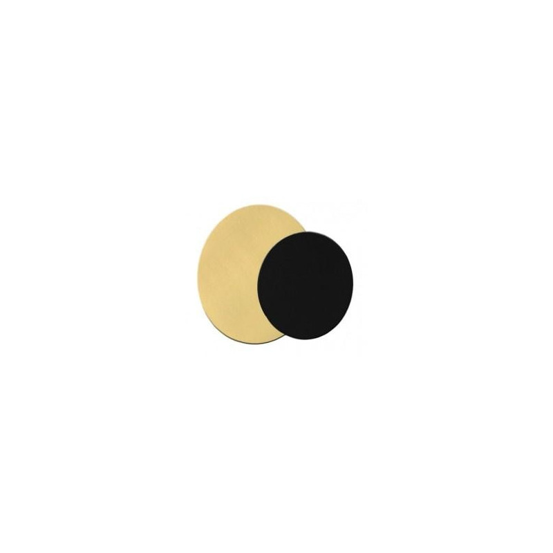Cartón de oro redondo 20 cm /ud
