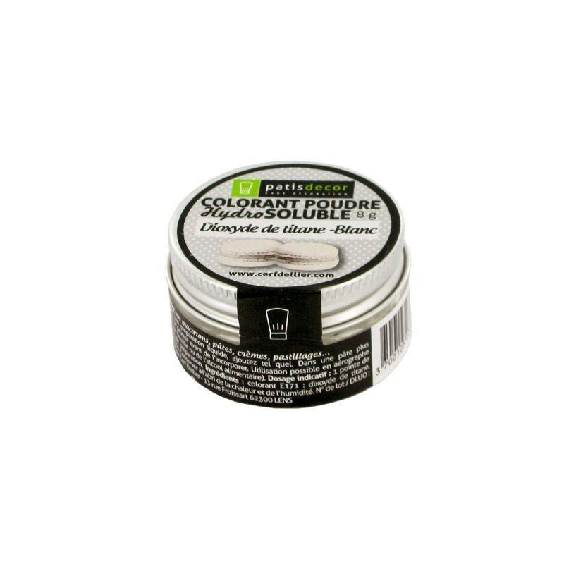 Colorante Blanco (Dioxido titanio) 8 gr