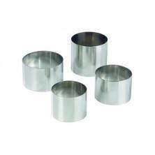 Aro inox 6.5x4.5 /ud