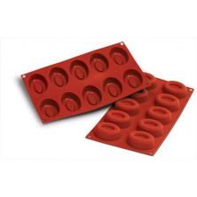 Molde de silicona 10 savarin medio