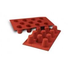 Molde silicona 11 babas medio 4.5 cm