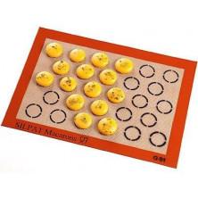 Tapiz de silicona para macarons D30 mm