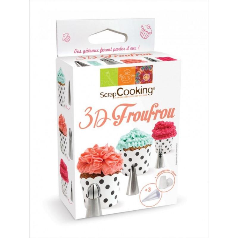 Boquillas 3D Froufrou SC
