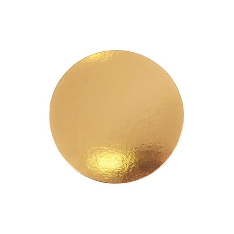 Carton de Oro redondo 24 cm