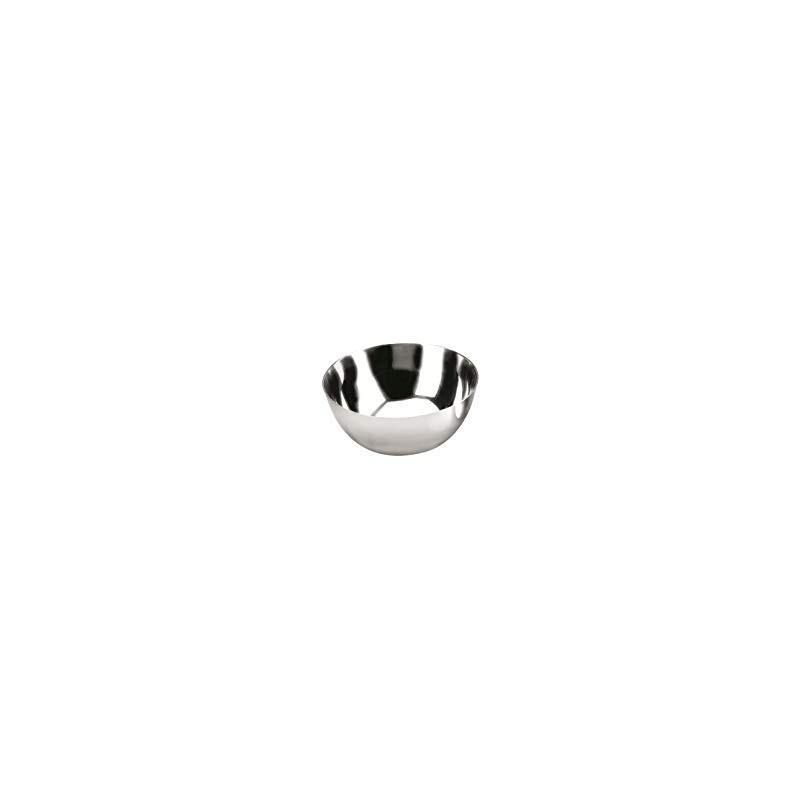 Molde inox semi esfera 12 cm