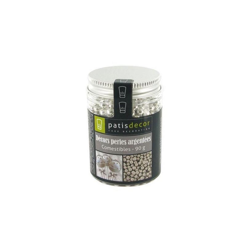 Perlas Nacaradas Plata Pastidecor 60 gr