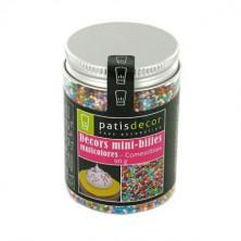 Mini bolitas multicolor 90 gr Pastidecor