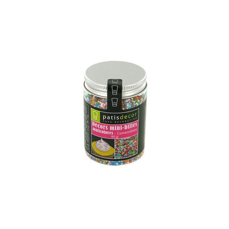 Mini bolitas multicolor 90 gr Pastidecor