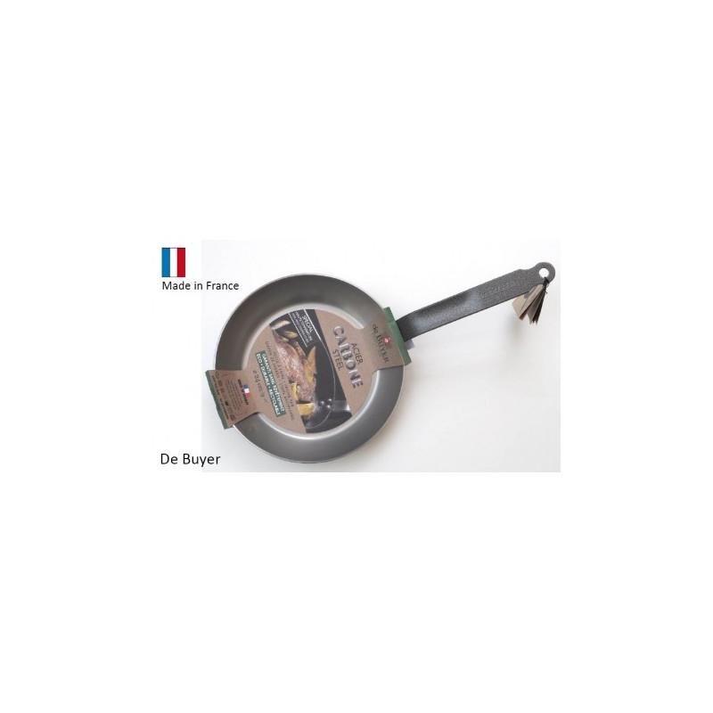 Sartén de acero de 26 cm De Buyer