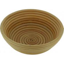 Cesto de mimbre para fermentación del pan redondo diametro 22