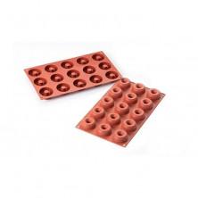 Molde de silicona15 mini donuts