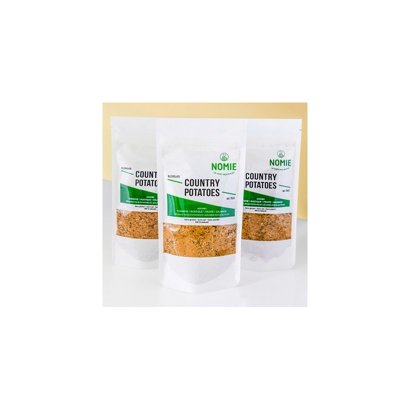 Mezcla de especias Country Potatoes - paquete de 75 g