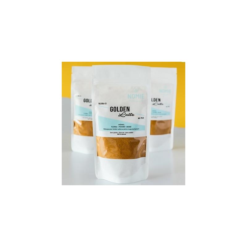 Mezcla de especias Golden Latte - paquete de 75 g