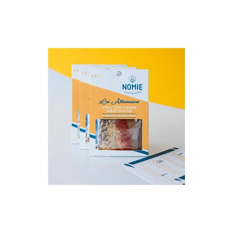 Mezcla de especias para Chili con Carne  paquete de 40 gr