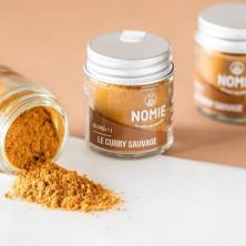 Curry Salvaje Nomie Epice.  Tarro de cristal 30 ml