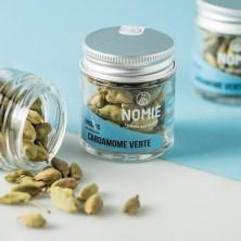 Semillas de Cardamomo Verde .  Tarro de cristal 30 ml