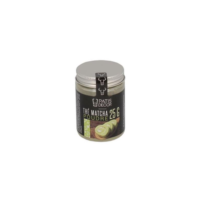 Te Matcha en polvo  Pastidecor - 25 gr